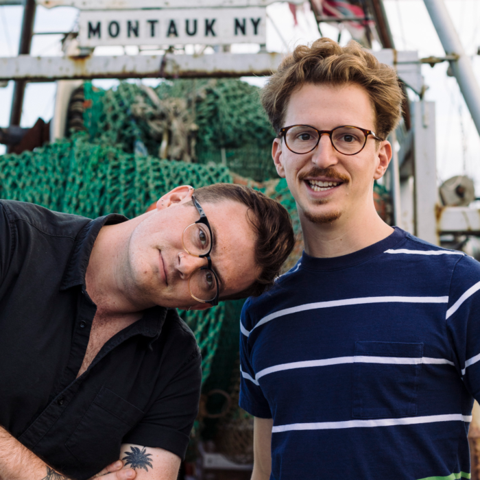 The Brothers Buoy cofounders Jackson Cook and Graham Burns.